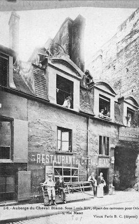 593 Auberge du Cheval Blanc. 5 rue Mazet