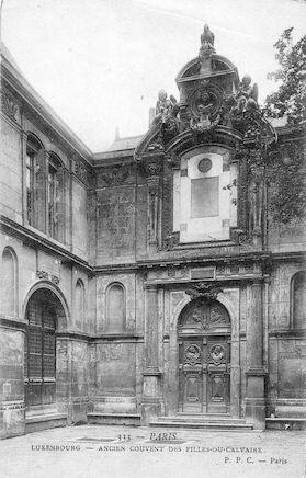 594 Luxembourg. Ancien couvent des Filles-du- Calvaire