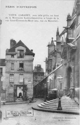 60 vieux cabaret et Rue St Etienne du Mont
