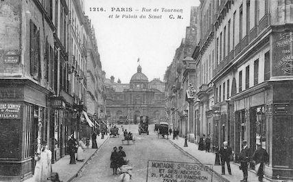 602  Rue de Tournon et le Palais du Sénat