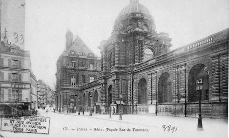 603 Sénat (façade Rue de Tournon)