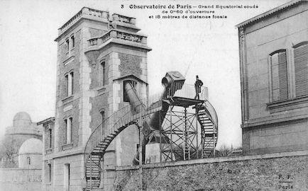 619 Observatoire de Paris. Grand équatorial coudé