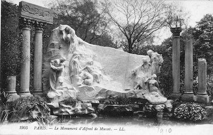 623 Le monument d'Alfred de Musset