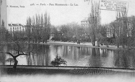 627 Parc Montsouri. Le lac