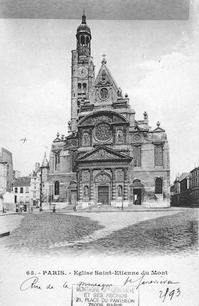 63 Eglise St Etienne du Mont