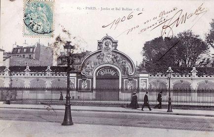 631-recto Jardin et bal Bullier (1906)
