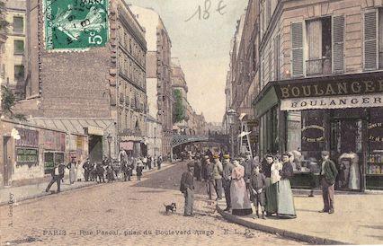 633 Rue Pascal, prise du boulevard Arago