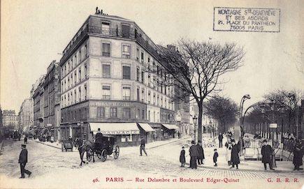 635 Rue Delambre et boulevard Edgar Quinet