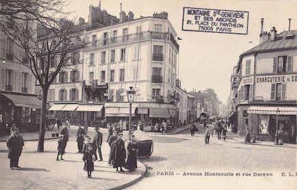 636 Avenue Montsouris et rue Dareau