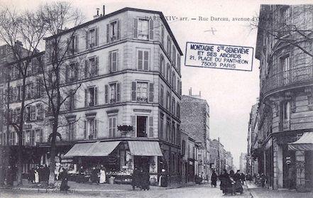 637 Rue Dareau, avenue d'Orléans