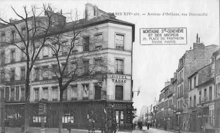 638 Avenue d'Orléans, rue Ducouëdic