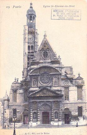 64  Eglise St Etienne du Mont