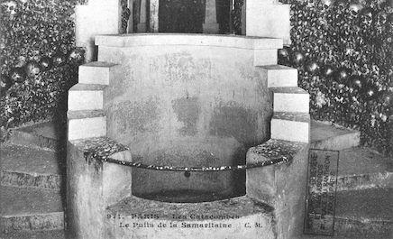 643. Les catacombes. Le puits de la Samaritaine