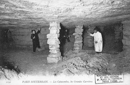 646 Les Catacombes. Les Grandes Carrières