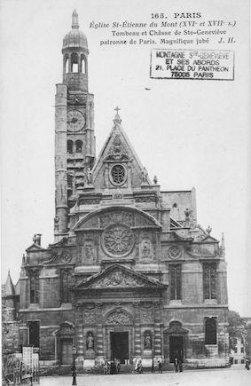 65 Eglise St Etienne du Mont