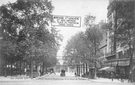 657 Place Denfert Rochereau et la Gare de Sceaux