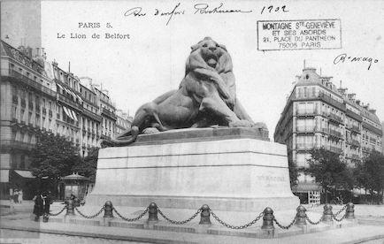 661 Le Lion de Belfort (1902)