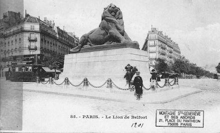 665 Le Lion de Belfort ( 1901)
