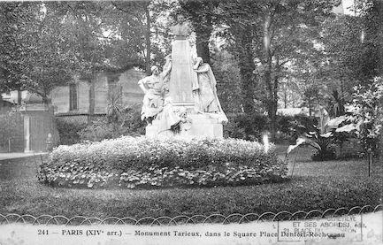 668 monument Tarieux dans le square Place Denfert Rochereau