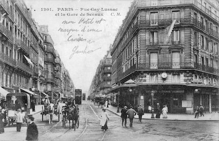 669-recto Rue Gay-Lussac et la gare de Sceaux