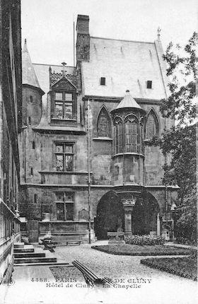 675 L'hôtel de Cluny. La chapelle