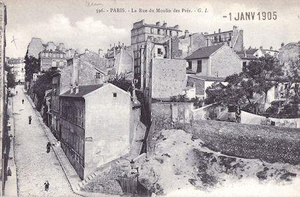 677  La rue du Moulin-des-Près