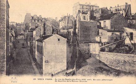 688 Rue du Moulin-des-prés. Un coin pittoresque du quartier de la Maison Blanche