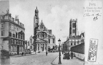 69 Eglise St Etienne du Mont et Tour Clovis