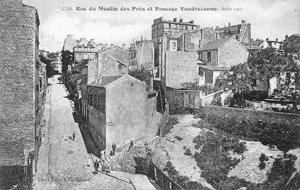 693 Rue du moulin-des-prés et passage Vandrezanne