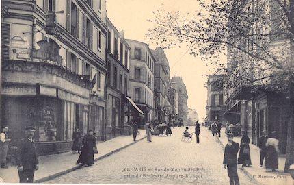 694 Rue du Moulin-des-prés  prise du boulevard Auguste Blanqui