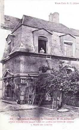696 Gobelins. Pavillon de chasse de M. de Julienne. 7 ruelle des Gobelins