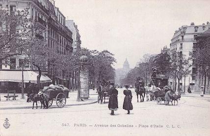 697 Avenue des Gobelins. Place d'Italie
