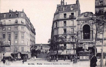 701 Avenue et Théâtre des Gobelins