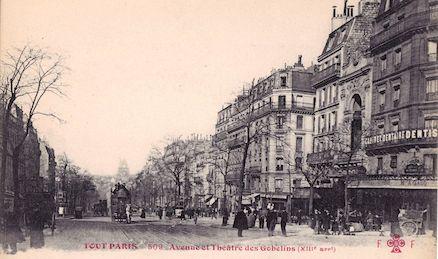 702 Avenue et théâtre des Gobelins