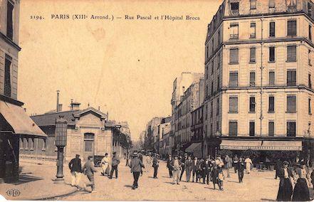 703 Rue Pascal et l'hôpital Broca