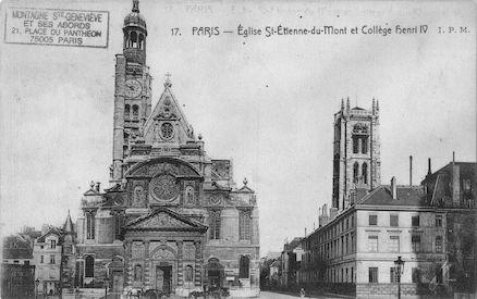 71 Eglise St Etienne-du-Mont et Collège Henri IV