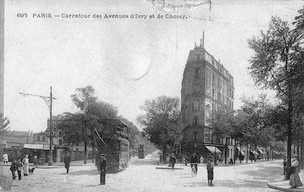 711 Carrefour des avenues d'Ivry et de Choisy