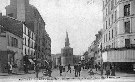716 Carrefour Domrémy Patay. Notre Dame de la Gare