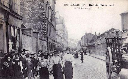 720 Rue du Chevaleret- Sorties des Ecoles