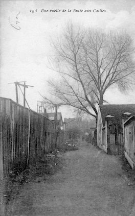 725 Une ruelle de la Butte-aux-cailles