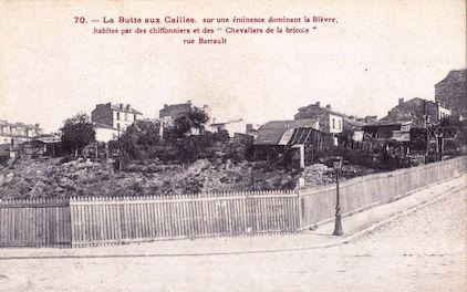 733 La Butte-aux cailles. Sur une éminence dominant la Bièvre. Rue Barrault