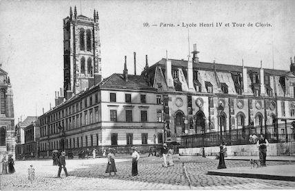 752 Lycée Henri IV et Tour de Clovis