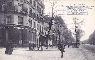 780. Avenue des Gobelins et la poste