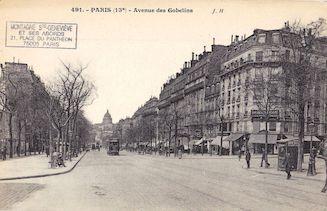 782.  Avenue des Gobelins