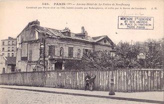 789.  Ancien hôtel de Le Prêtre Neufbourg
