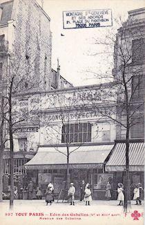 793.  Eden des Gobelins. Avenue des Gobelins