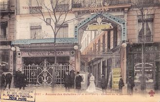 797.  Avenue des Gobelins. Concert de la Fauvette