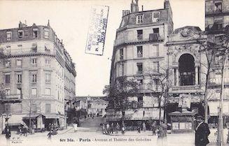 800. Avenue et théâtre des Gobelins
