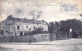 805.  Ancienne demeure de Robespierre