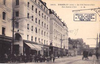 806.  La Cité Jeanne d'Arc, rue Jeanne d'Arc